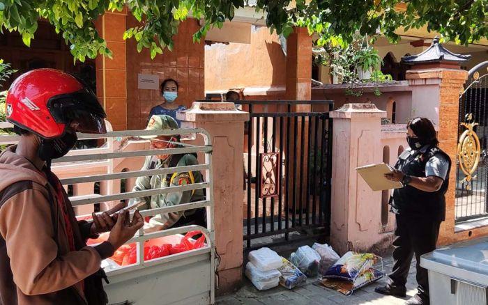 Seluruh OPD Kota Kediri Dikerahkan Bantu Salurkan Paket Sembako